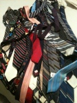 I got rid of my tie collection :( Something I'd begun at the ripe age of 14